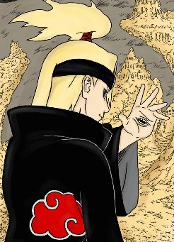 Tests de Naruto Deidara